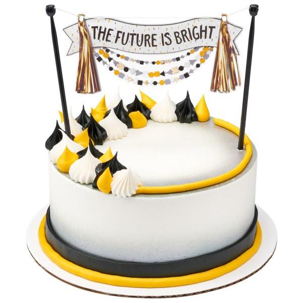 Future Is Bright Cake Topper