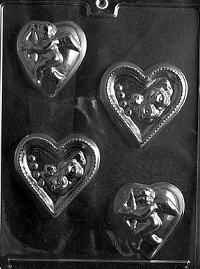 Life of the Party Hearts With Rose Or Cupid