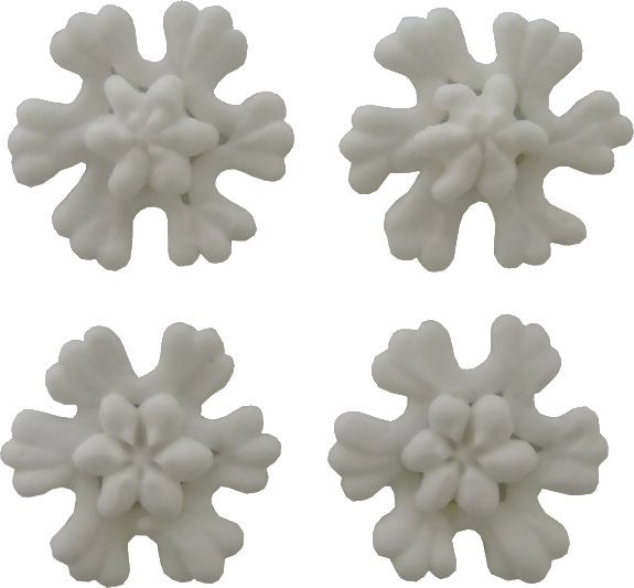 Icing Decorations: Snowflakes