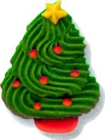 Icing Decorations: Christmas T