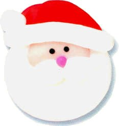 Icing Decorations: Large Santa