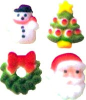 Sugar Decorations: Christmas C