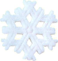 Sugar Decorations: Snowflakes