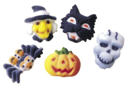 Sugar Decorations: Mini Fright