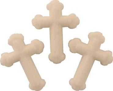 Small White Sugar Crosses