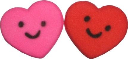 Sugar Decorations: Smiley Hear