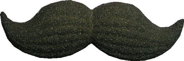 Sugar Decorations: Black Musta