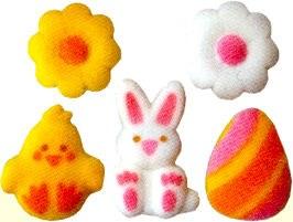 Sugar Decorations: Lovable Eas