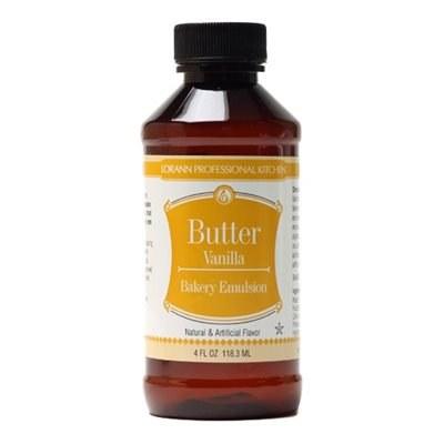 LorAnn Emulsions: Butter Vanilla 4 Oz