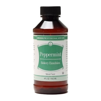 LorAnn Bakery Emulsion 4oz:peppermint
