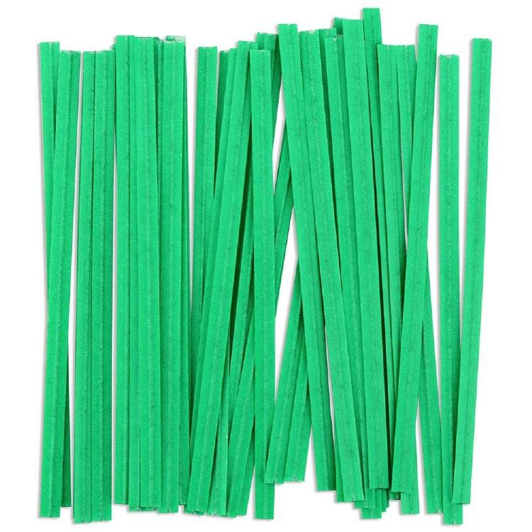 Twist Ties: Green/100