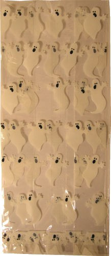 Ghost Pretzel Bags