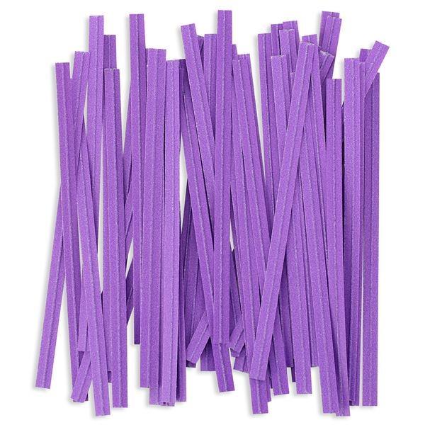 Twist Ties: Purple/100