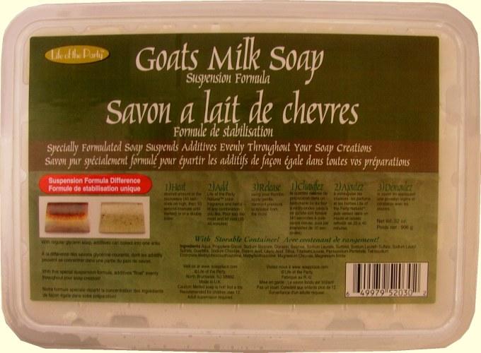 Life of the Party 2 Lb Goats Milk Soap