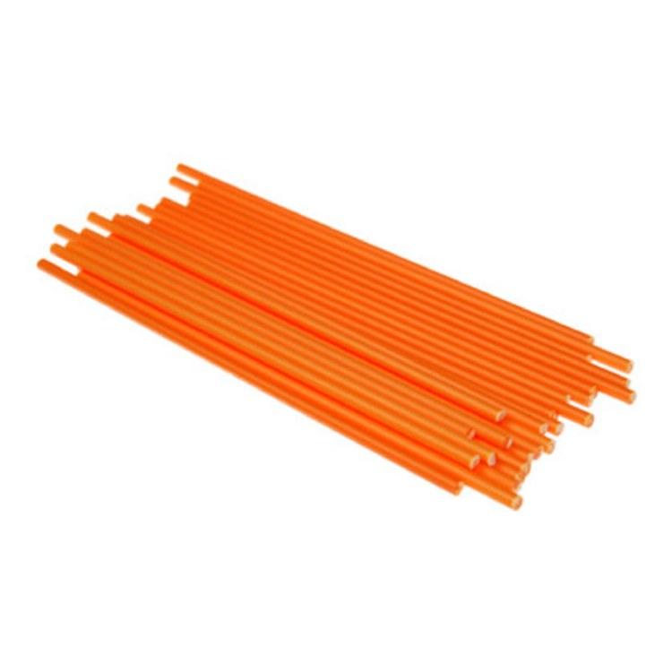 Lolly Sticks 41/2'orange 50/pk