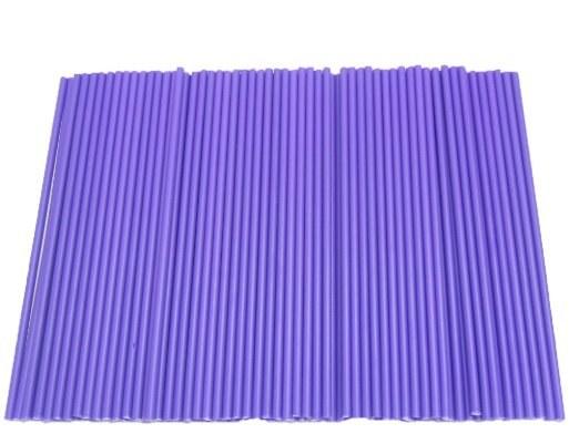 Lolly Sticks 41/2' Purple 50pk