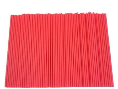 Lolly Sticks 41/2' Red 50/pkg