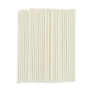 Lolly Sticks 8' White 20/pkg