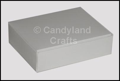 White Die Cut Box