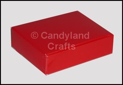 Die Cut Blank Red Box/5