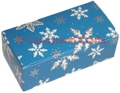 1/2 Lb Snowflake Blue Box/5