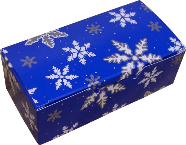 1 Lb Snowflakes Blue Box/5