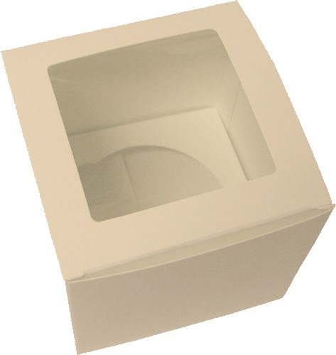 Single White Cupcake Box/5
