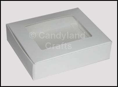 1/2 Lb White Window Box/5