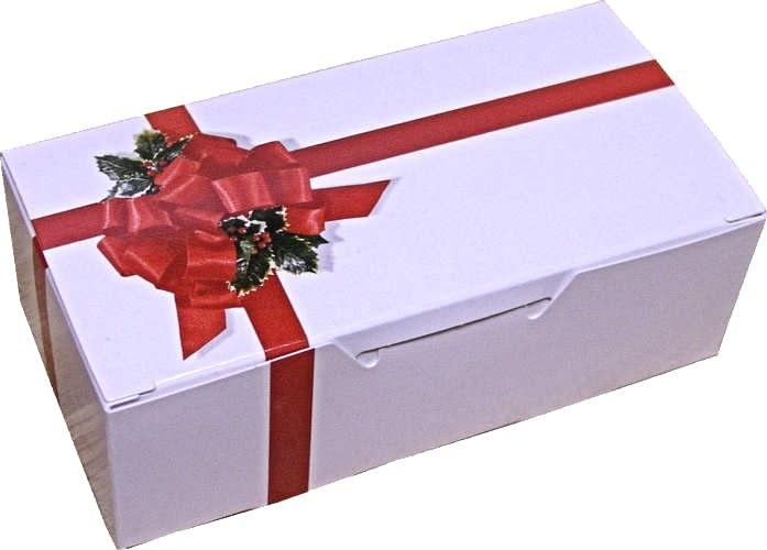 1/2 Lb Ribbons & Holly Box/5
