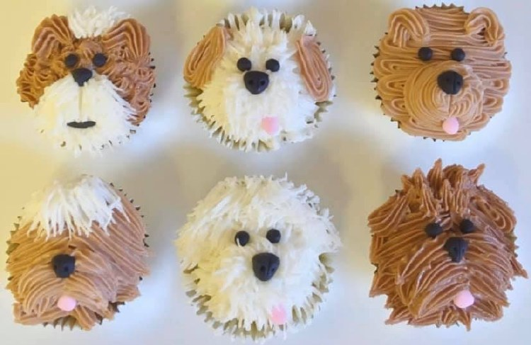 Supply Kit For Puppy Cupcakes