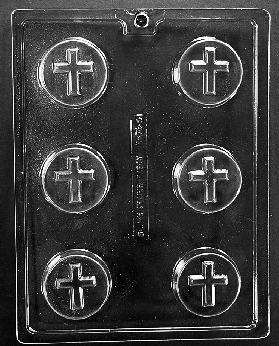 Life of the Party Cross Cookie Mold