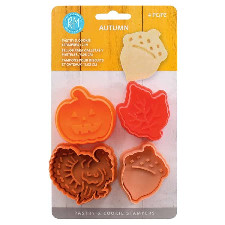 Autumn Pastry Cookie Stamper