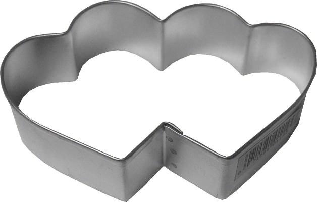 R & M International Double Heart Cutter