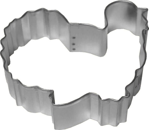 R & M International Metal Cutter: Turkey Gobbler