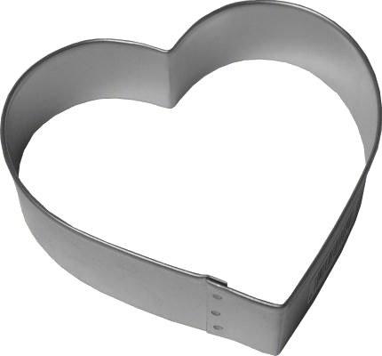 R & M International Metal Cutter: 4' Heart