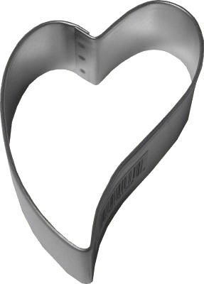 R & M International Metal Cutter: 3' Heart Folk