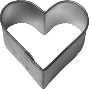 R & M International Metal Cutter: Plain Heart