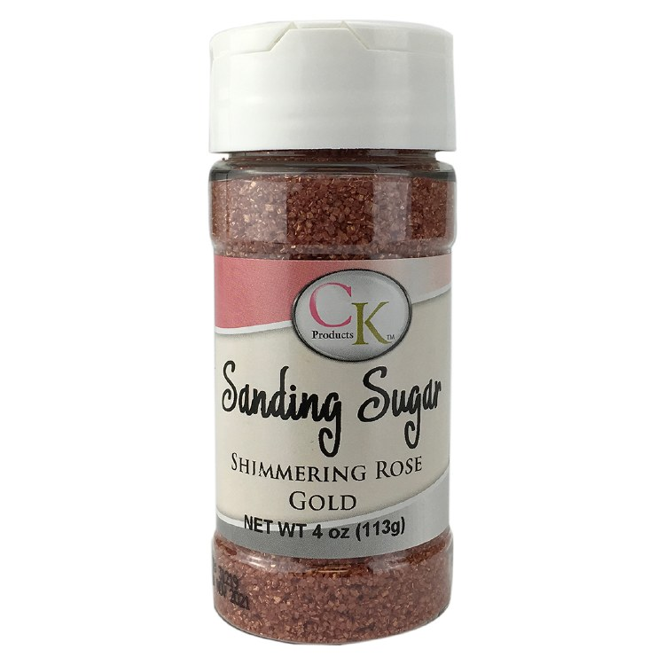 Rose Gold Sanding Sugar