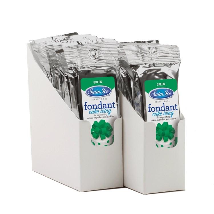 Satin Ice Green Vanilla Fondant - 4.4oz
