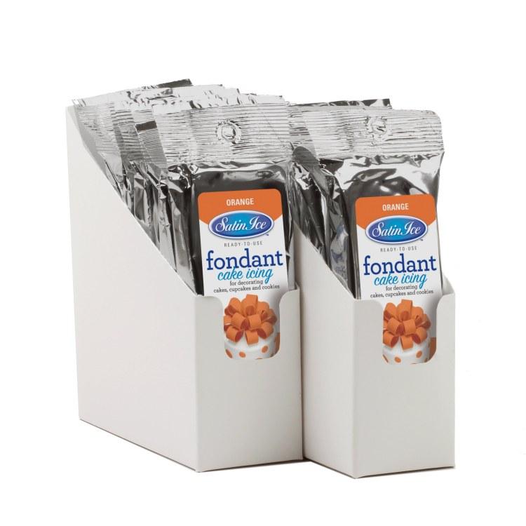 Satin Ice Orange Vanilla Fondant - 4.4oz