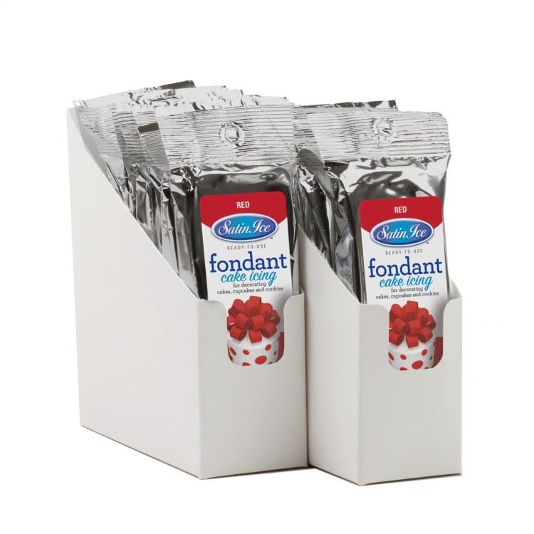 Satin Ice Red Vanilla Fondant - 4.4oz