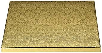 Whalen 12x12 Gold Square Drum1/2thick