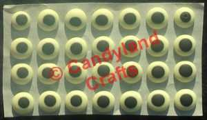 Candy Eyes Medium Yellow (120)
