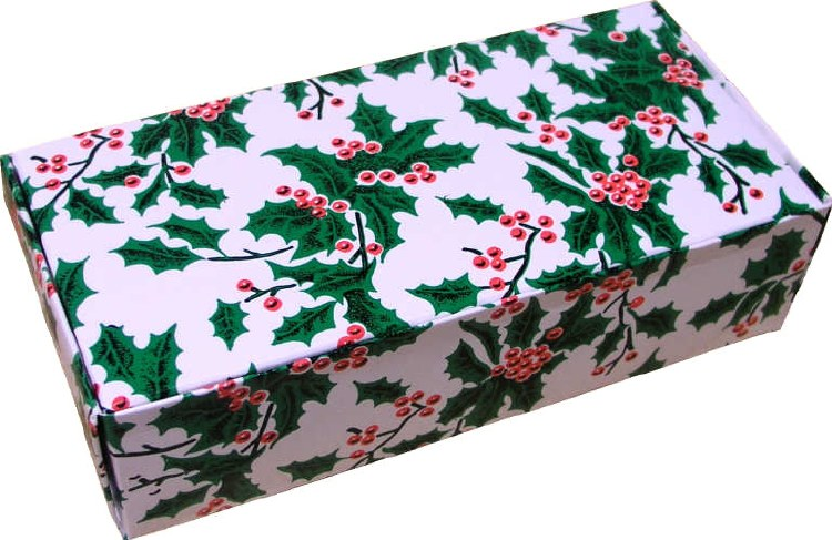 1 Lb Holly & Red Berries Box/5