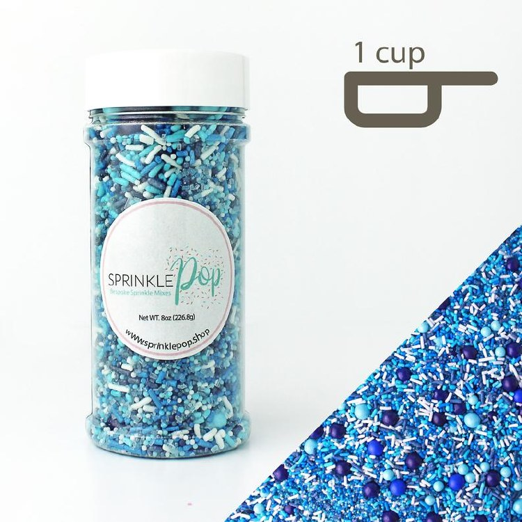 Sprinkle Pop Blue Ombre