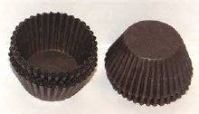 #4 Brown Candy Cups/80 Pkg