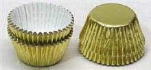 #4 Gold Foil Candy Cups/48 Pkg