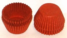 #4 Red Candy Cups 80/pkg