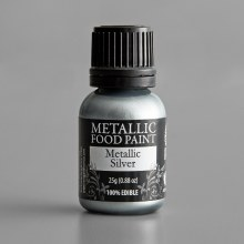 Renshaw Mettalic Food Paint- Silver