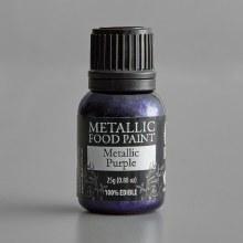 Renshaw Metallic Food Paint Purple
